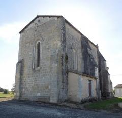 Commanderie Saint-Jean - English: Le Tâtre, Église Saint-Jean, seen from northeast