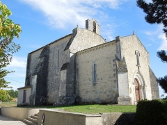 Commanderie Saint-Jean - English: Le Tâtre, Église Saint-Jean, seen from southwest