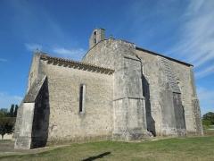 Commanderie Saint-Jean - English: Le Tâtre, Église Saint-Jean, southside