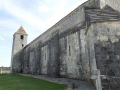 Eglise Saint-Eutrope - English: Agudelle, Église Saint-Eutrope, north side