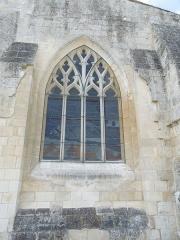 Eglise Saint-Eutrope - English: Agudelle, Église Saint-Eutrope, window in the eastern facade
