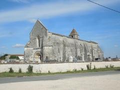 Eglise Saint-Eutrope - English: Agudellem Église Saint-Eutrope from the southwest
