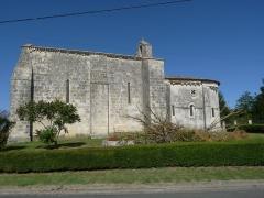 Eglise Saint-Martin - Français:   Eglise d\'Allas-Bocage, Charente-Maritime, France
