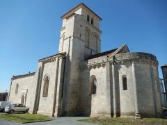 Eglise Saint-Martin - Français:   La façade sud de l\'église Saint-Martin d\'Archingeay (Charente-Maritime, France).