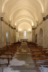 Eglise Notre-Dame - Français:   Intérieur de l\'Église d\'Authon (Charente-Maritime, France).