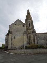 Eglise Notre-Dame - English: Avy, village church Notre-Dame, east side