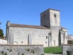Eglise Saint-Vivien - Français:   église de Bagnizeau