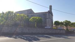 Eglise paroissiale Saint-Jacques - English: Belluire Church