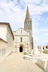 Eglise de la Trinité - Français:   Église Saint-Sauveur de Bignay (Charente-Maritime, France).