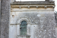 Eglise Saint-Pierre - Français:   Bougneau - Eglise Saint-Pierre Détail de l\'abside vue du Sud