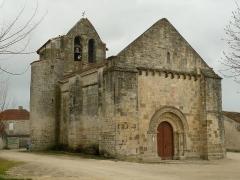 Eglise Saint-Pierre - Français:   église de Brie-sous-Matha, Charente-Maritime, France