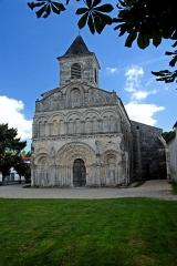 Eglise Saint-Martin - Deutsch:   Chadenac, St.-Martin, Fassade mit Glockenturm