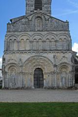 Eglise Saint-Martin - Deutsch:   Chadenac, Fassade gesamt