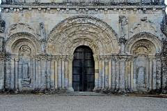 Eglise Saint-Martin - Deutsch:   Chadenac, Fassade Erdgeschoss