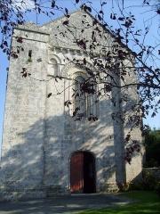 Eglise Saint-André - Français:   Façade de l\'église de Champagne