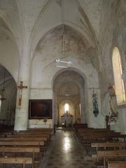 Eglise Saint-André - English:   Clion, Église Saint-André, nave