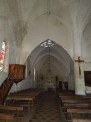 Eglise Saint-André - English:   Clion, Église Saint-André, northern aisle