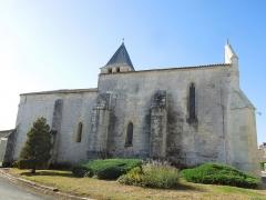 Eglise Saint-André - English:   Clion, Église Saint-André, northern side