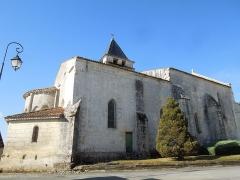 Eglise Saint-André - English:   Clion, Église Saint-André, view from the northeast