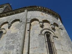 Eglise Saint-André - Français:   Eglise de Clion, Charente-Maritime, France