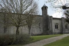 Eglise Saint-Pierre - Deutsch: Kirche Saint-Pierre in Dampierre-sur-Boutonne im Département Charente-Maritime (Nouvelle-Aquitaine/Frankreich)