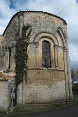 Eglise Saint-Pierre - Deutsch: Kirche Saint-Pierre in Dampierre-sur-Boutonne im Département Charente-Maritime (Nouvelle-Aquitaine/Frankreich), Apsis