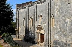 Eglise Saint-Pierre - Deutsch: Echebrune, St.-Pierre, Schiff, Südwand, Südportal