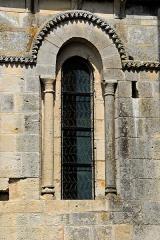 Eglise Saint-Pierre - Deutsch: Echebrune, St.-Pierre, Fenster des Schiffs