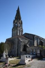 Eglise Notre-Dame -  Eglise de Fenioux depuis le cimetière