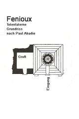 Lanterne des morts - Deutsch: Fenioux, Totenlaterne, Grundriss