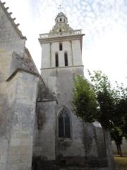 Eglise Saint-Pierre - English: Fléac-sur-Seugne, belltower of the village church Saint-Pierre