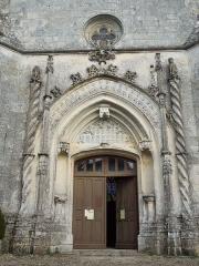 Eglise Saint-Pierre - English: Fléac-sur-Seugne, portal of the village church Saint-Pierre