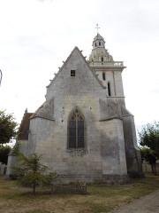 Eglise Saint-Pierre - English: Fléac-sur-Seugne, church Saint-Pierre, seen from the east