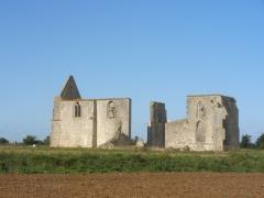 Ancienne abbaye Notre-Dame de Ré, dite des Châteliers -  Abbaye Notre-Dame-de-Ré
