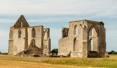 Ancienne abbaye Notre-Dame de Ré, dite des Châteliers - English: Abbey Notre-Dame de Ré, Ré Island, Charente-Maritime, France