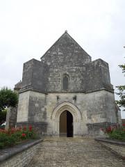 Eglise Saint-Pierre - English: Germignac, church Saint-Pierre, west facade