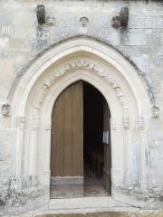 Eglise Saint-Pierre - English: Germignac, church Saint-Pierre, portal