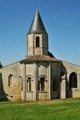 Eglise Saint-Symphorien - Français:   Chevet de l\'église de Saint-Symphorien