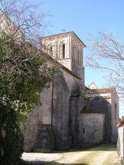 Eglise Saint-Symphorien - Français:   église de Haimps
