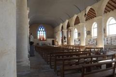 Eglise Saint-Pierre - English: Intérieure de l'église de Brouage.