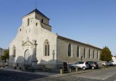 Eglise Saint-Pierre - English: Église Saint-Pierre (Hiers-Brouage), Brouage, France.