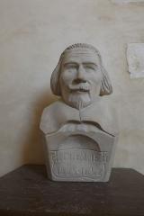 Eglise Saint-Pierre - English: Buste de Richelieu (1585-1642) dans l'église de Brouage.
