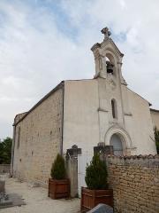 Eglise Sainte-Madeleine - Français:   L\'église Sainte-Madeleine de la Jarrie-Audouin.
