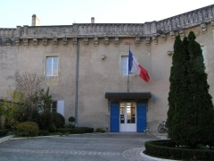Château -  la sous-préfecture dans le château de Jonzac