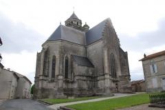 Eglise Sainte-Marie ou Notre-Dame -  Eglise de Lonzac (17)