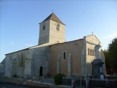Eglise Saint-Pierre-ès-Liens -  Eglise romane de Lorignac