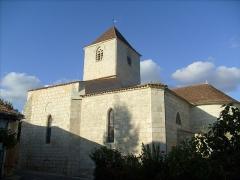 Eglise Saint-Pierre-ès-Liens -  L'église romane de Lorignac