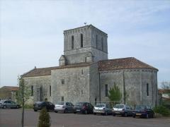 Eglise Saint-Pierre - Français:   L\'église de Lussant