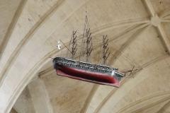 Eglise Saint-Pierre - English: Ex-voto dans l'église Saint-Pierre de Marennes