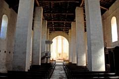 Eglise Saint-Herie - Deutsch: Ste.-Hérie, Schiff. Blick zum Chor